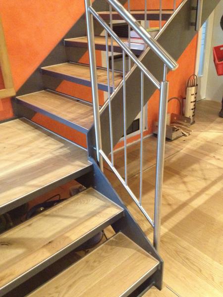 Treppen innen gerade gewendelt   ideen aus stahl... hillebrand